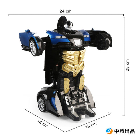 (⚡⚡20% OFF NOW)Remote control deformation car one-button deformation robot