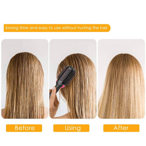 2 in 1 Hair Brush Blower & Volumizer with Ear Cap (FREE) - Home Shopping Philippines