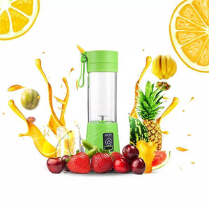 Portable Blender - USB Rechargable (380ml) - Home Shopping Philippines