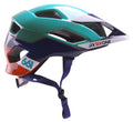 EVO AM  HELMET ORANGE BLUE