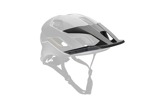 EVO AM VISOR BLACK/GRAY OS