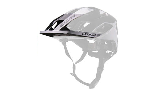 EVO AM VISOR METALLIC BLACK OS