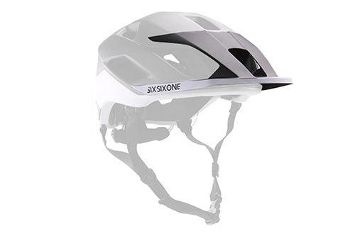 EVO AM PATROL VISOR BLACK/WHITE OS