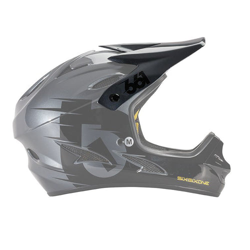 COMP HELMET VISOR BLACK / CHARCOAL
