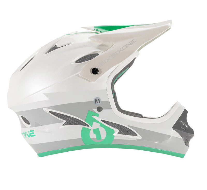 COMP HELMET VISOR GRAY GREEN