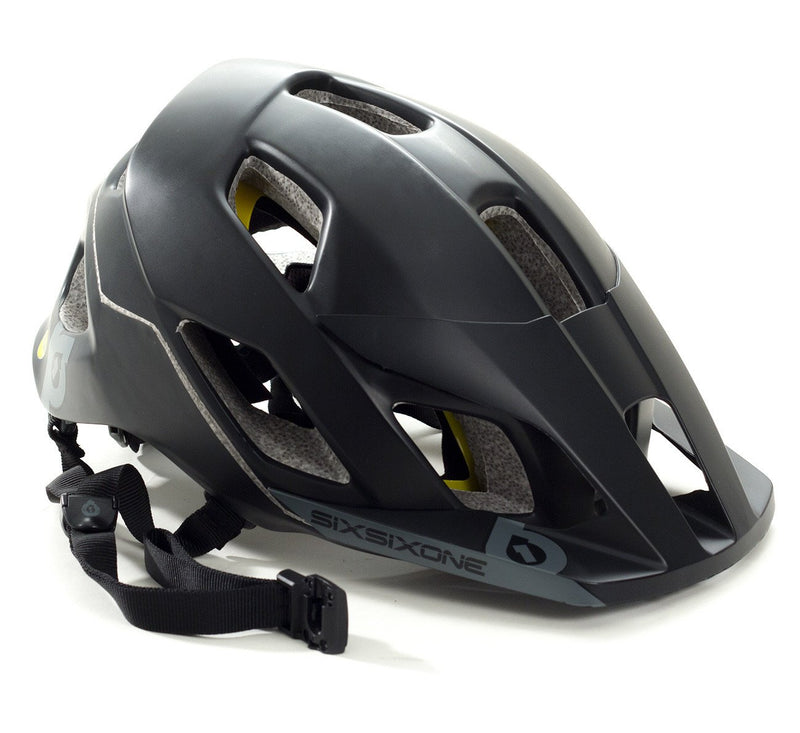 EVO AM MIPS HELMET - BLACK/GRAY M3/4