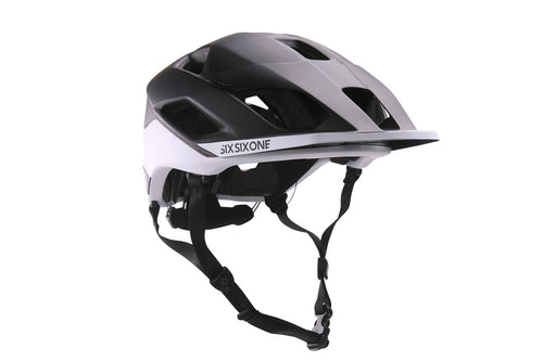 EVO AM PATROL BEST HELMET CPSC BLACK/WHITE