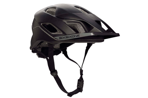 EVO AM HELMET - BLACK / GRAY