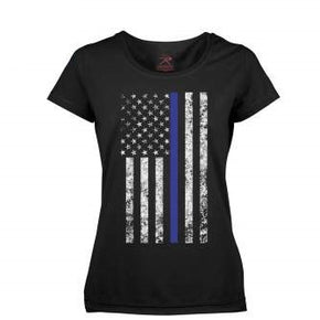 Women's Thin Blue Line Longer T-Shirt