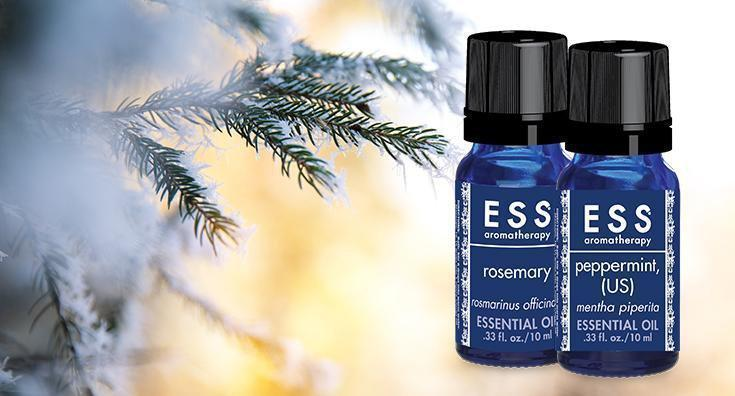 Create the ESSence of Winter with Aromatherapy