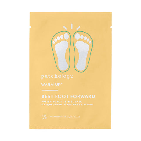 12 ct Patchology Best Foot Forward Softening Foot & Heel Mask, 12 Treatments