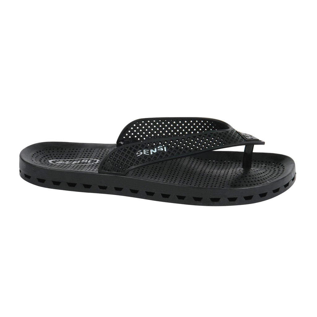 Sensi Sandals / Wave London / Black / 8