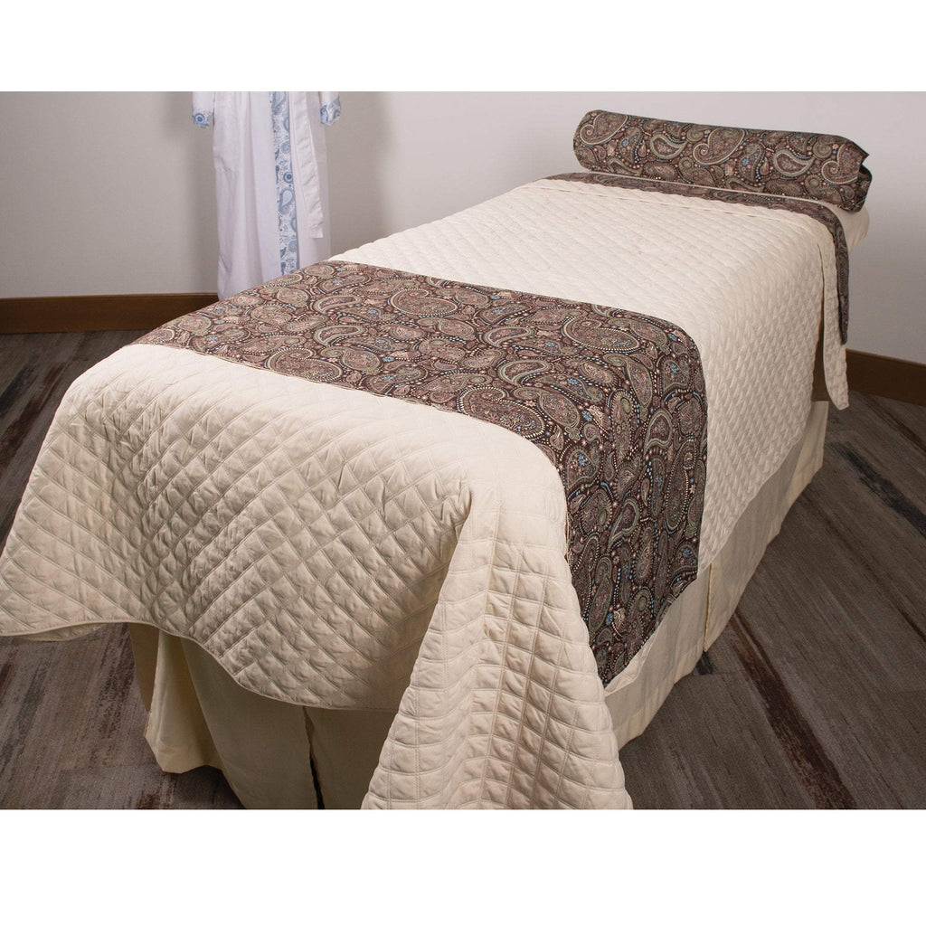 Sposh Professional Paisley Bolster Cover