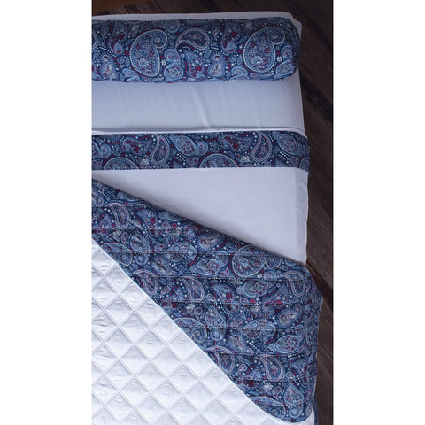 Image of Sposh Professional Paisley Bolster Cover