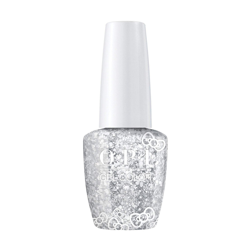 OPI, Hello Kitty GelColor Glitter to My Heart,  0.5 fl oz