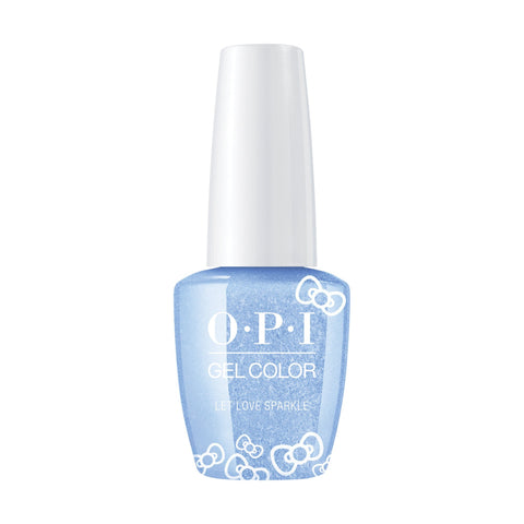 Image of OPI, Hello Kitty GelColor Let Love Sparkle,  0.5 fl oz
