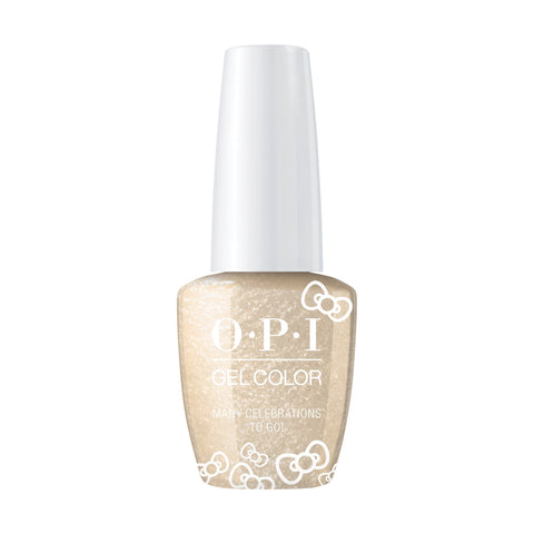 Image of OPI, Hello Kitty GelColor Many Celebrations to Go,  0.5 fl oz