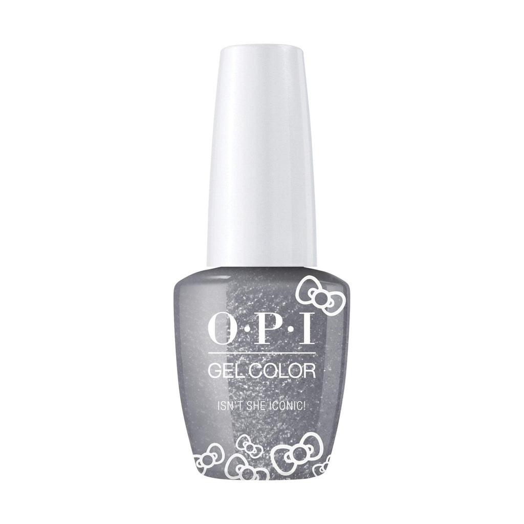 OPI, Hello Kitty GelColor Isn't She Iconic,  0.5 fl oz