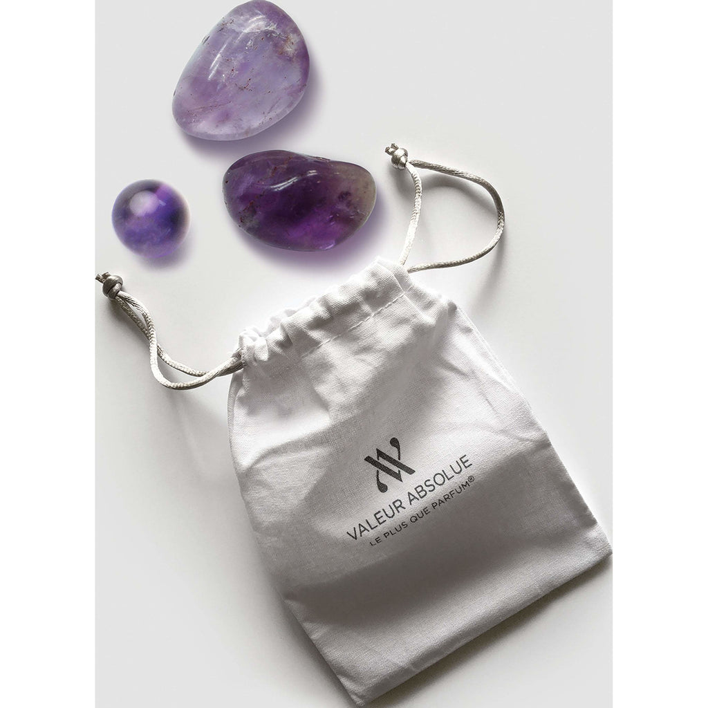 Valeur Absolue Amethyst Massage Stones