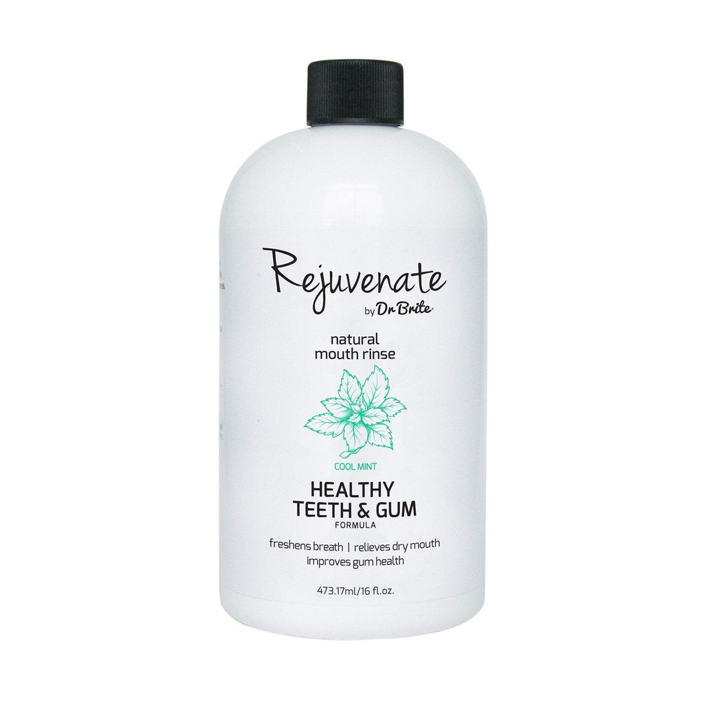 Rejuvenate by Dr. Brite Natural Mouth Rinse, Healthy Teeth & Gum Formula, 16 oz