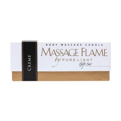 Image of Massage Flame Gift Set, Crème