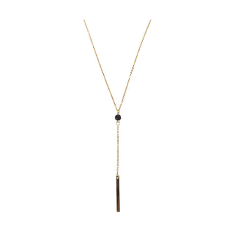 Image of Serina & Company Bar Lava Necklace