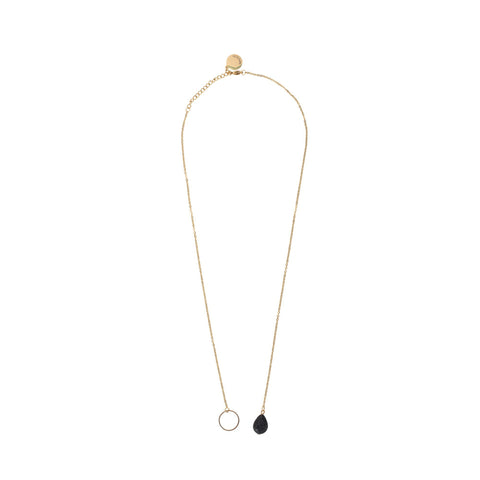 Image of Serina & Company Tear Drop Lava Necklace