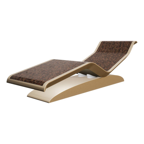 Image of Fabio Alemanno Design DIVA Moderno Infrared Heated Lounger, Ceramico