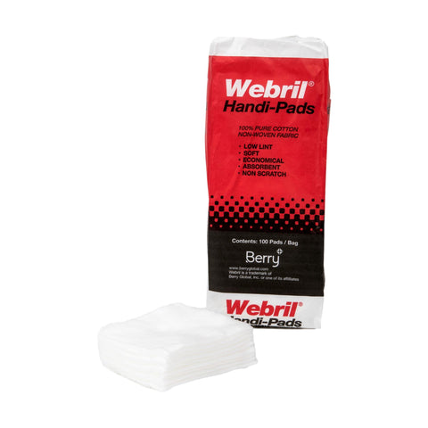 "Image of Webril 4"" x 4"" Cotton Pads / 100pc"
