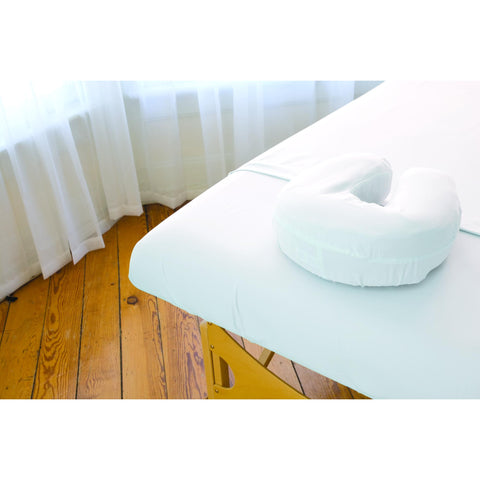 Image of Sposh Premium Waterproof Microfiber Protective  Face Rest Cover,  White