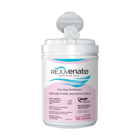 Rejuvenate Disinfectant Wipes, 160 ct