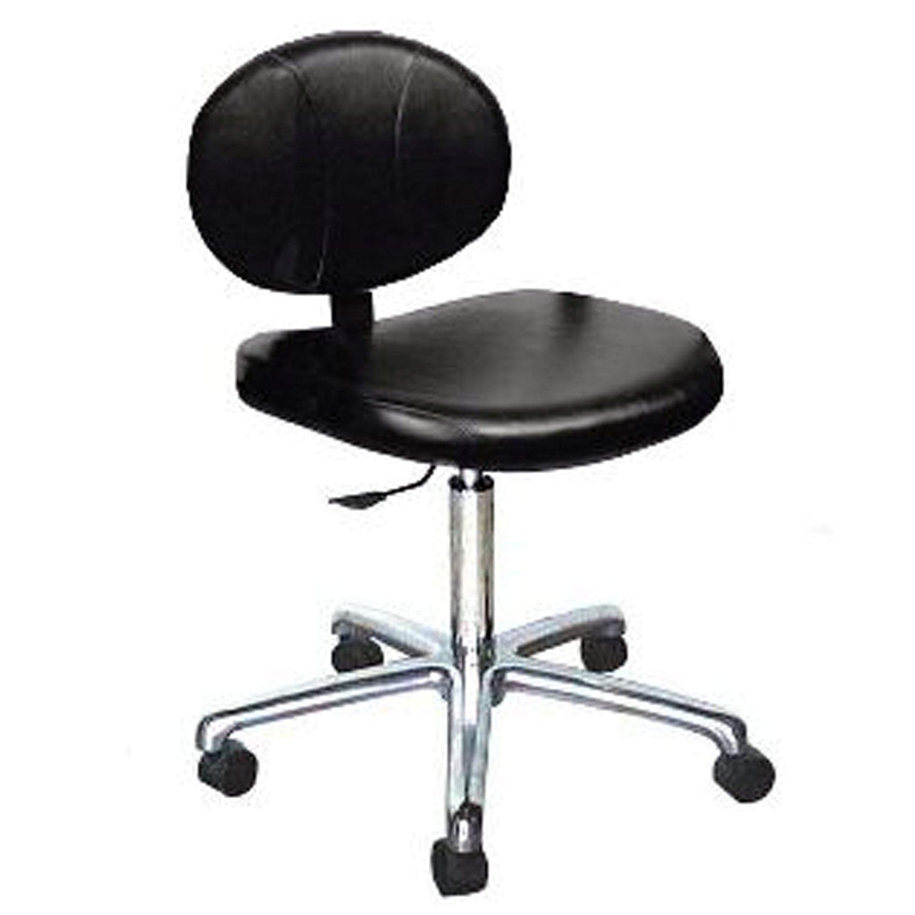 Collins 1760 Berra Manicure Stool w/Castors  and  Gas Lift