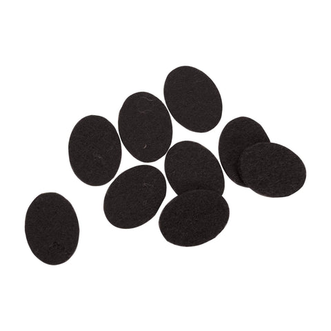 Image of Serina & Company Oval Replacement Pads, Black