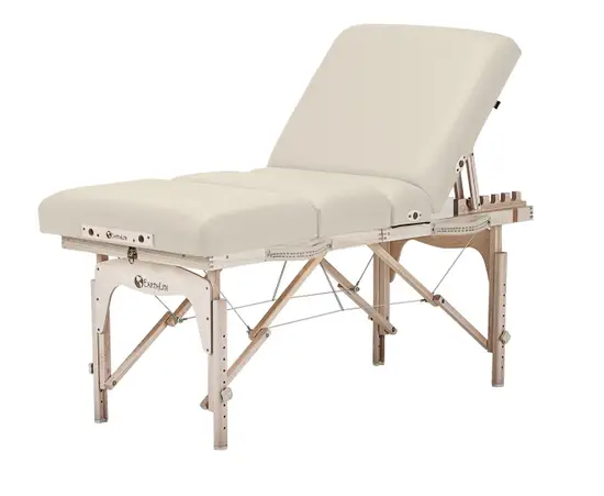 Earthlite Calistoga Portable Salon Table, Vanilla Creme
