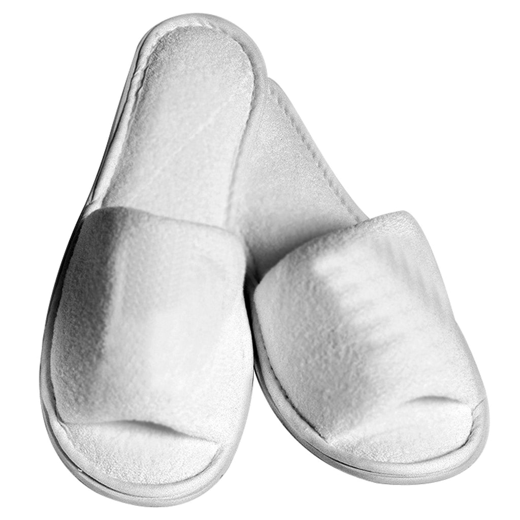 Apparel Boca Terry Spa Slippers / Men's / White