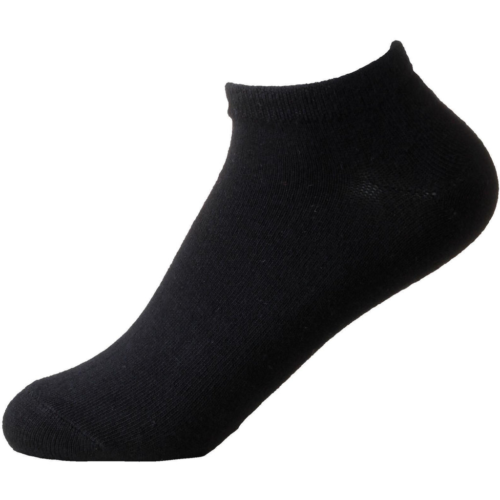 Apparel Boody Wear Men's Sneaker Sock / Black / Size 6-11
