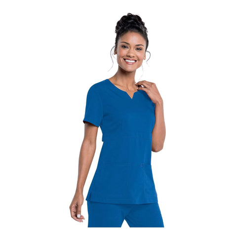 Image of Apparel Royal / 2XL Urbane Leah Empire Notch Neck Tunic