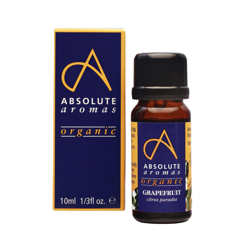 Aromatherapy 10 ml Absolute Aromas Organic Grapefruit Essential Oil 10ml