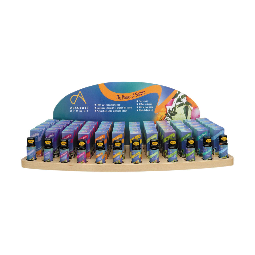 Aromatherapy Absolute Aromas Aromatherapy Essential Blends Display Package