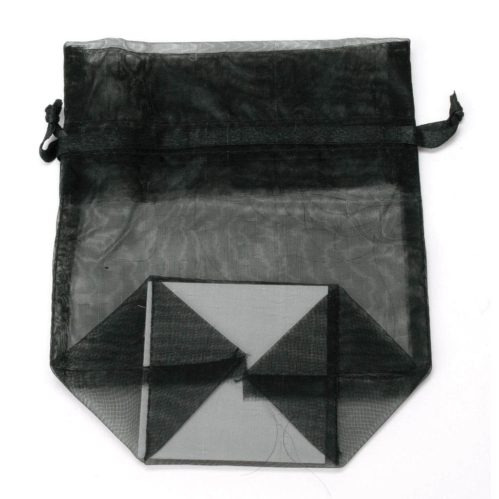 Bags, Ribbons & Tissue Black / Small Organza Bag