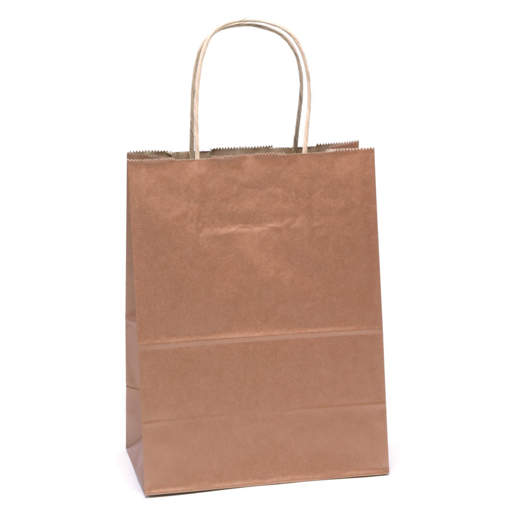 "Bags, Ribbons & Tissue Coppy Solid Solid Gift Bag 7.75"" x 3.75"" x 9.75"""