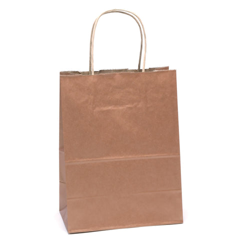 "Image of Bags, Ribbons & Tissue Coppy Solid Solid Gift Bag 7.75"" x 3.75"" x 9.75"""