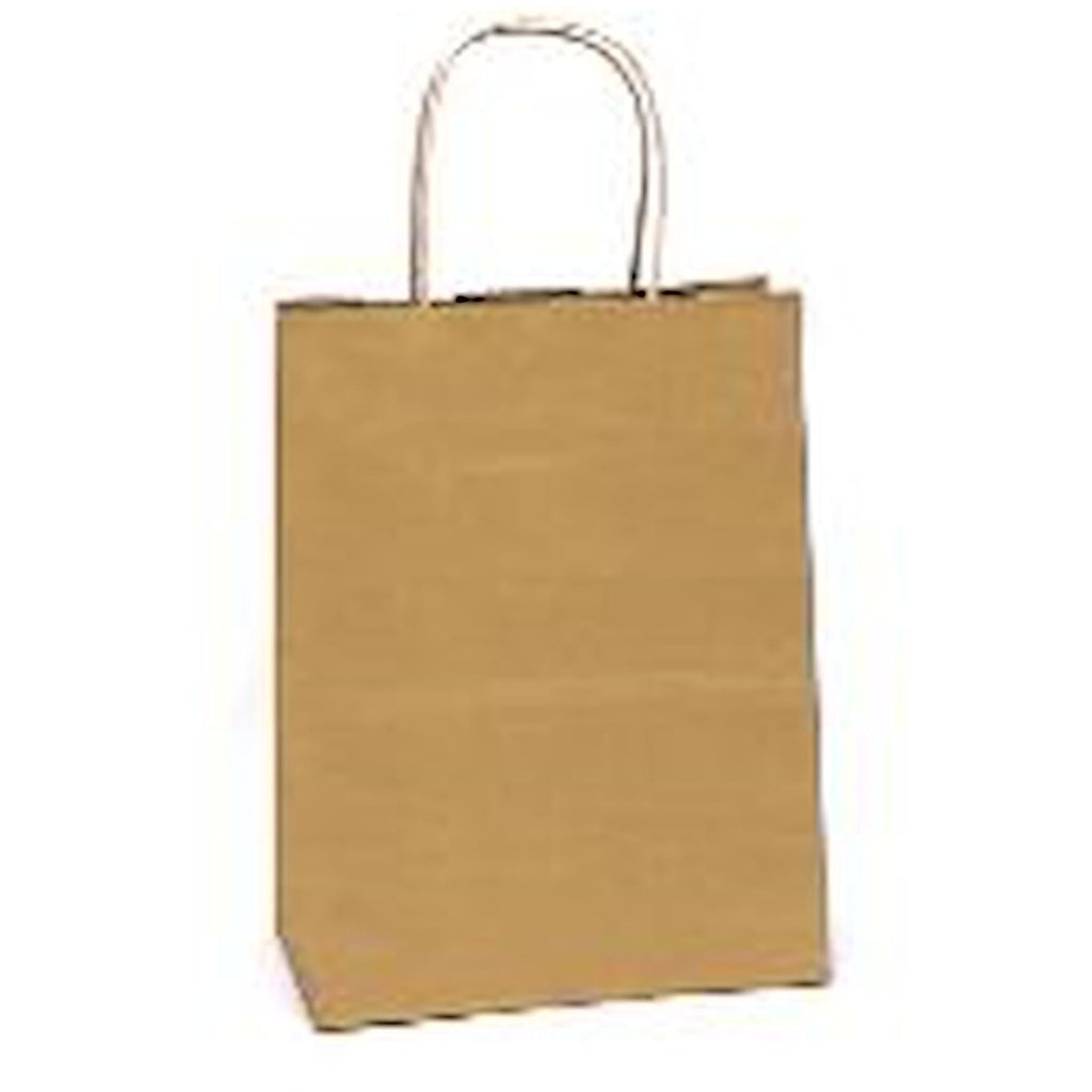 "Bags, Ribbons & Tissue Gold Solid Solid Gift Bag 7.75"" x 3.75"" x 9.75"""