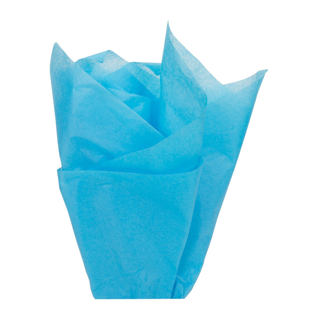 Bags, Ribbons & Tissue Turquoise Tissue Paper / 20in x 30in