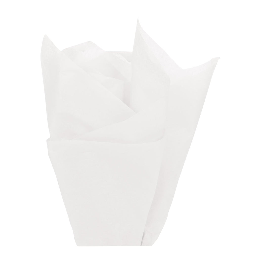 Bags, Ribbons & Tissue White Tissue Paper / 20in x 30in