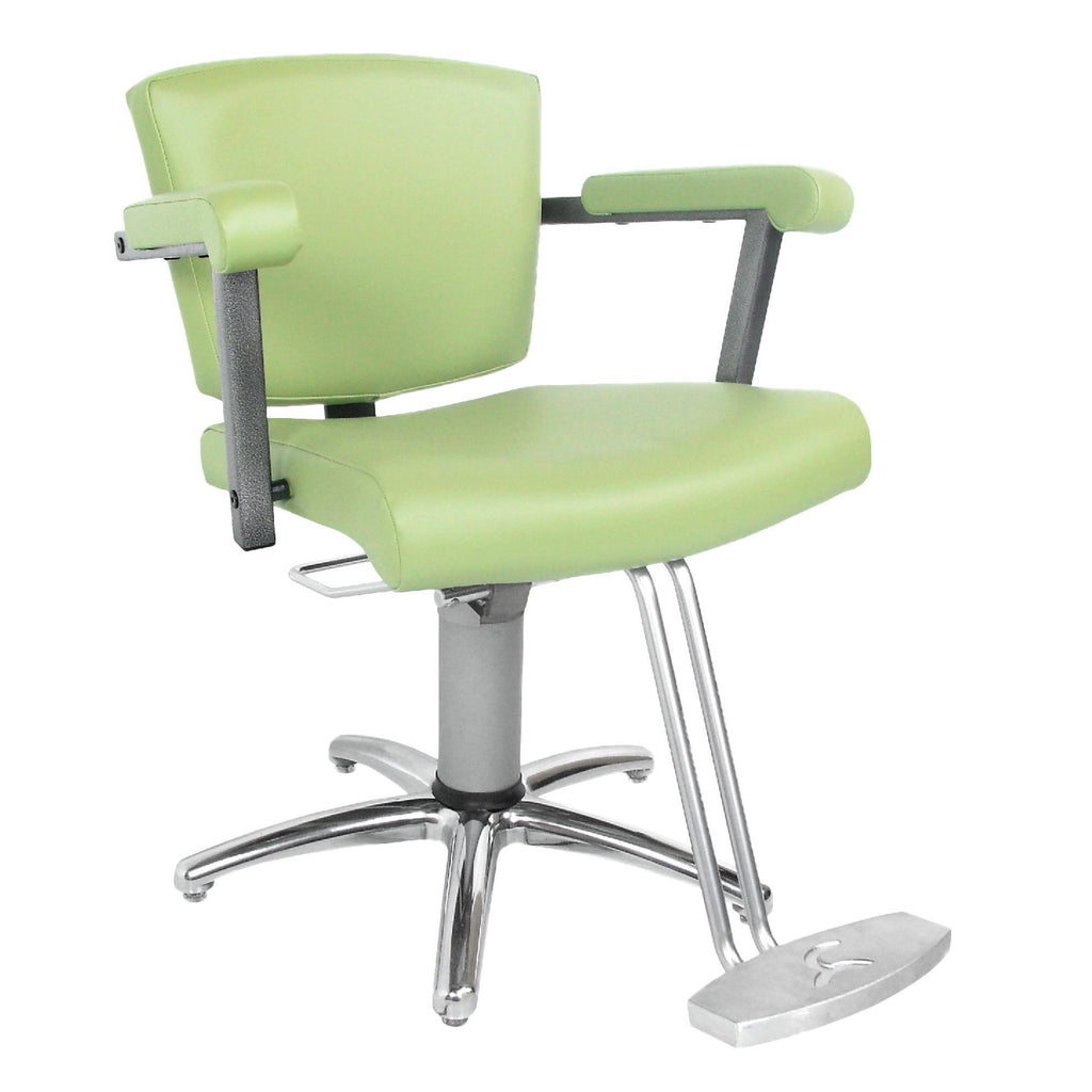 Barber & Styling Chairs Collins Vittoria Hydraulic Styling Chair with Slim Star Base