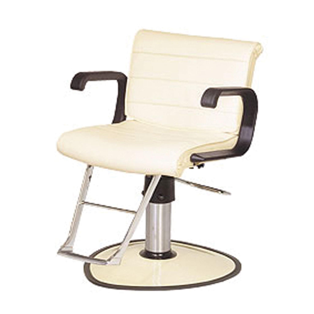 Barber & Styling Chairs Belvedere Scroll All-Purpose Chair w/Round Base