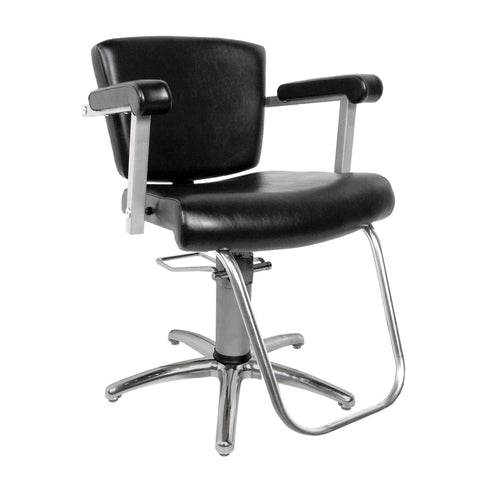 Image of Barber & Styling Chairs Collins Vittoria Hydraulic Styling Chair with Slim Star Base