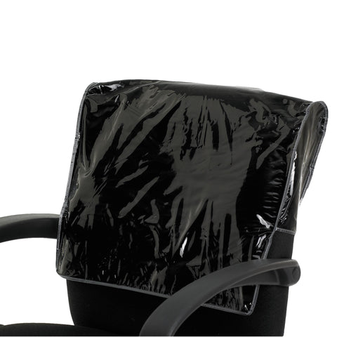 Image of Betty Dain Salon Chair Back Cover, Clear