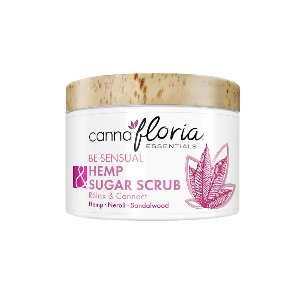 Cannafloria Hemp Sugar Scrub